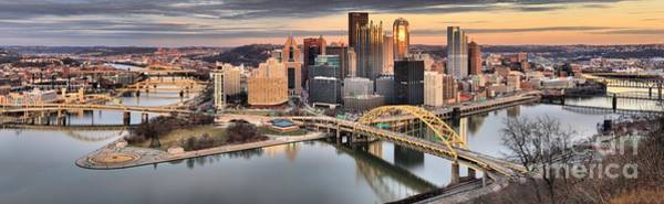 Photograph - Reflections Of Pittsburgh Pennsylvania by Adam Jewell