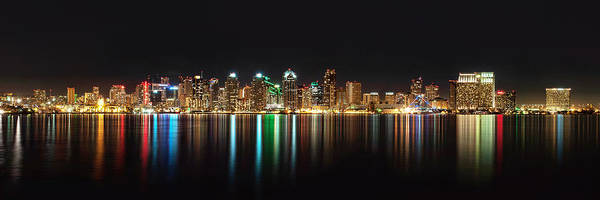 Reflections Of San Diego Art Print
