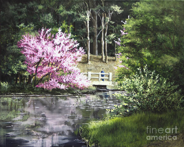 Painting - Reflections Of Spring by Mary Palmer
