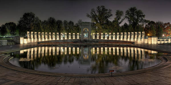 Photograph - Reflections Of The Atlantic Theater by Metro DC Photography