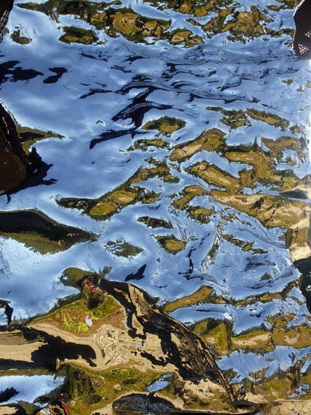 Photograph - Reflections On Artificial Rock II by Rick Locke