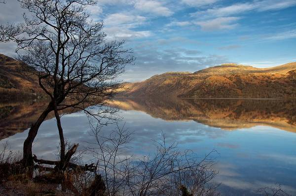 Reflections On Loch Lomond Art Print