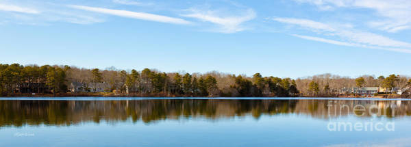 Yarmouth Photograph - Reflections On Long Pond by Michelle Constantine