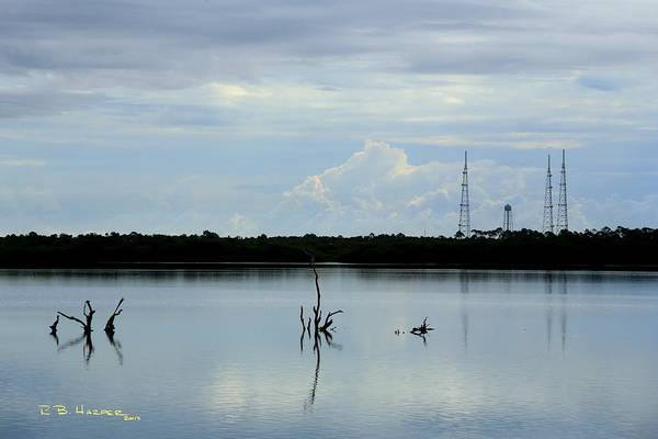 Photograph - Reflections On Pad 39a by R B Harper