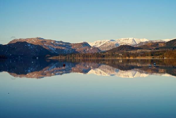 Pooley Bridge Wall Art - Photograph - Reflections On Ullswater by Stephen Taylor