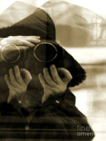 Photograph - Reflections - Self Portrait by Robyn King