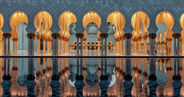 Columns Photograph - Reflections by Stefan Schilbe