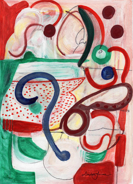 Reflective #6 Art Print