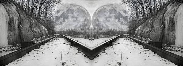 Super Moon Photograph - Reflective Journey by Betsy Knapp