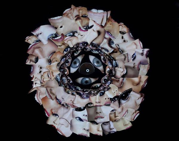 Mixed Media - Reflective Mandala by Arvo Zylo