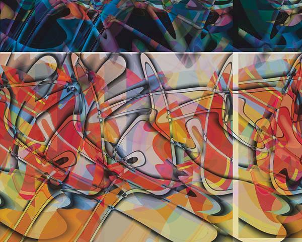 Wall Art - Digital Art - Reflective Perspective by Edward Supranowicz