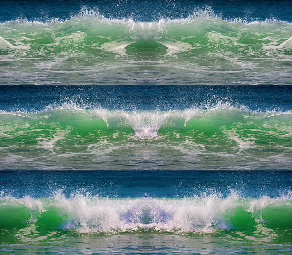 Wall Art - Photograph - Reflective Wave Sequence by Betsy Knapp