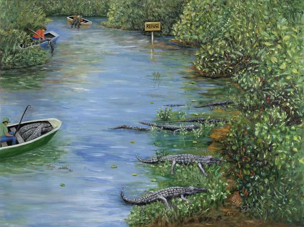 Painting - Refuge? by Karen Zuk Rosenblatt
