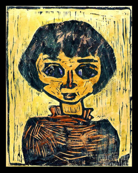 Wall Art - Photograph - Refugee Child 1930 by Padre Art