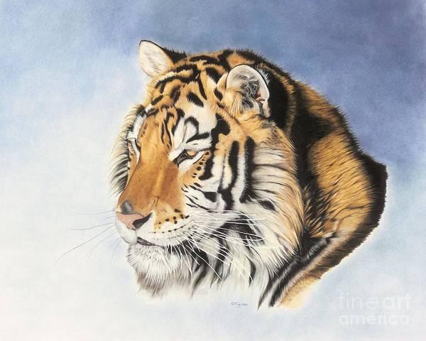 Drawing - Regal One by Rosellen Westerhoff