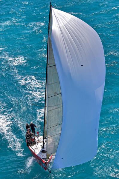 Photograph - Regatta Downwind by Steven Lapkin