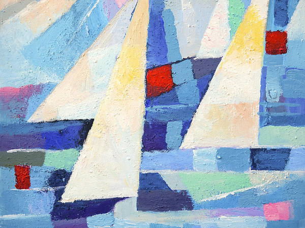 Painting - Regatta Marine by Lutz Baar