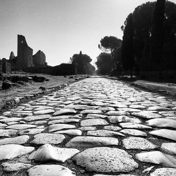 Ancient Photograph - Regina Viarum by Emanuela Carratoni