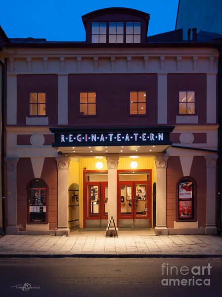 Photograph - Reginateatern by Torbjorn Swenelius