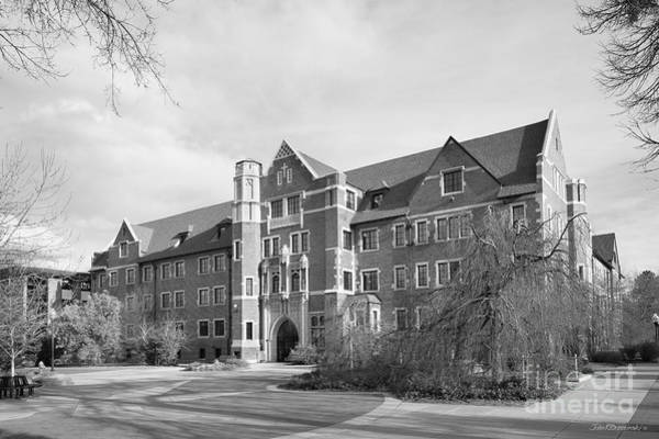 Photograph - Regis University Carroll Hall by University Icons