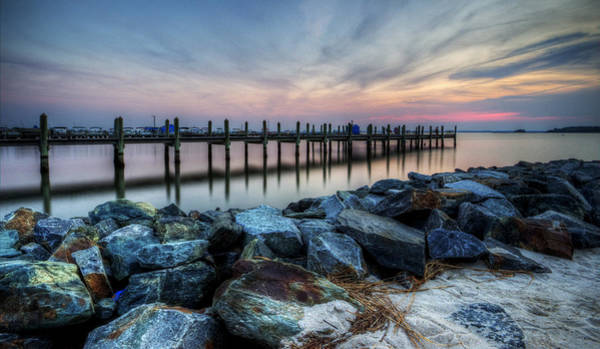 Photograph - Rehoboth Bay Sunset by David Dufresne