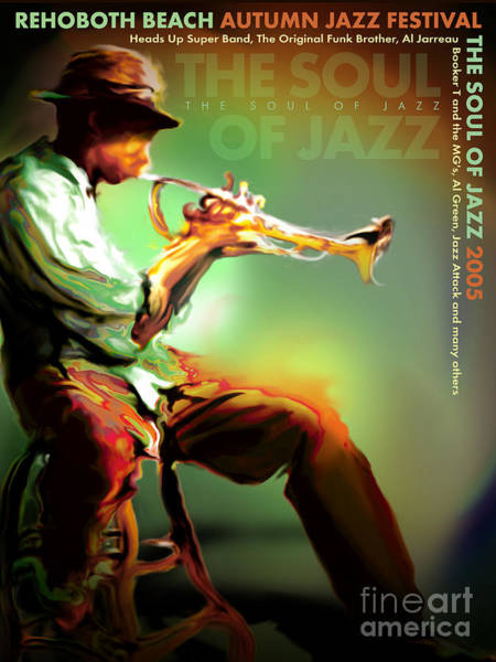 Wall Art - Digital Art - Rehoboth Beach Jazz Fest 2005 by Mike Massengale