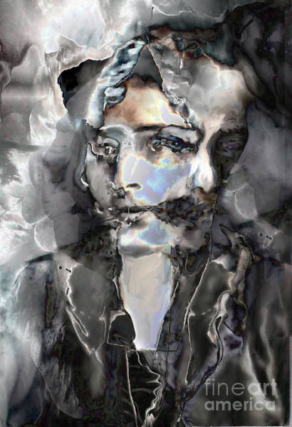 Apparition Digital Art - Reincarnation by Ursula Freer