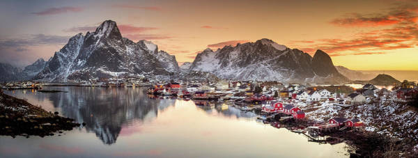 Wall Art - Photograph - Reine Morning Light by Lior Yaakobi