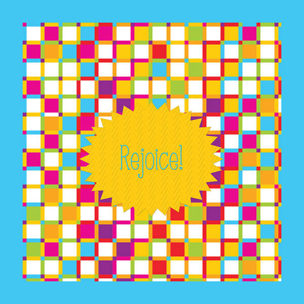 Count Digital Art - Rejoice by Bonnie Bruno