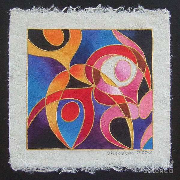 Painting - Reki I - Dance For Joy by Maria Rova