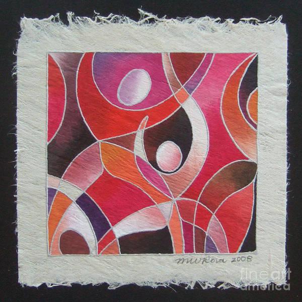 Painting - Reki IIi - Dance For Joy by Maria Rova