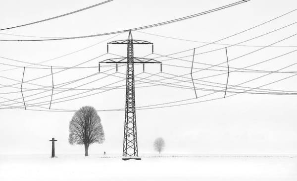Electricity Photograph - Relation by Ales Komovec