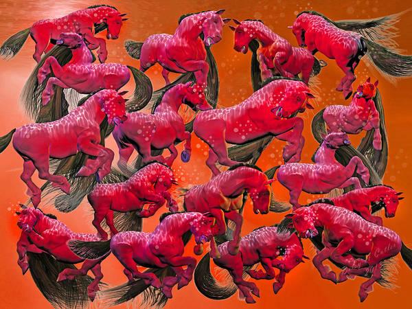 Wall Art - Digital Art - Relative Hell by Betsy Knapp