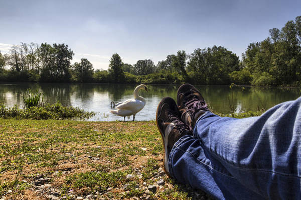 Photograph - Relax At River by Pier Giorgio Mariani
