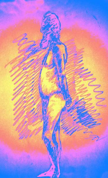 Sexuality Mixed Media - Relaxed by Genio GgXpress