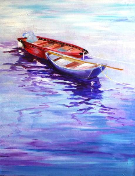 Painting - Reliance by Betty M M Wong