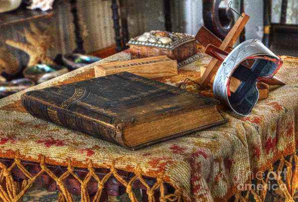 Cabrillo Photograph - Relics Of A Lighthouse Keeper by Bob Christopher