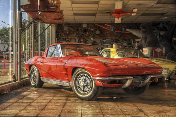Photograph - Relics Of History - Corvette - Elvis - Nehi by Jason Politte