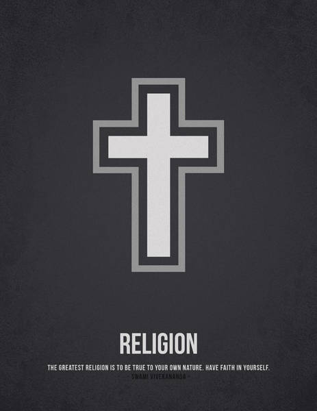 Religion Drawing - Religion by Aged Pixel