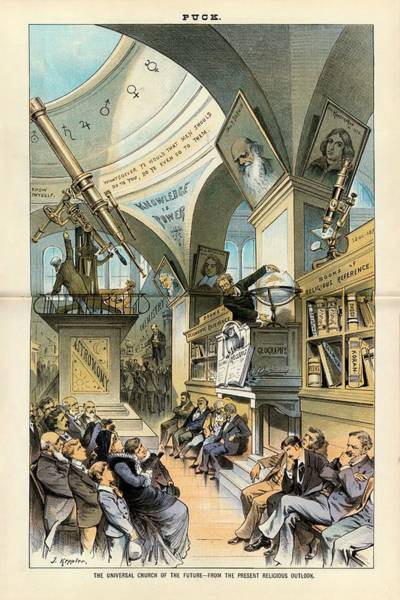 Reference Wall Art - Photograph - Religion And Science by Library Of Congress