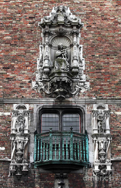 In Bruges Photograph - Religion In Bruges by John Rizzuto