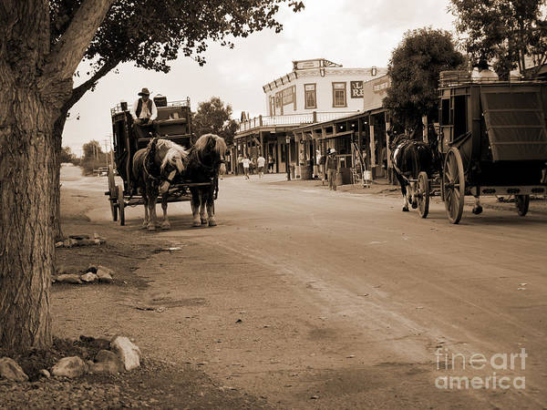 Photograph - Reliving The Old West by Brenda Kean