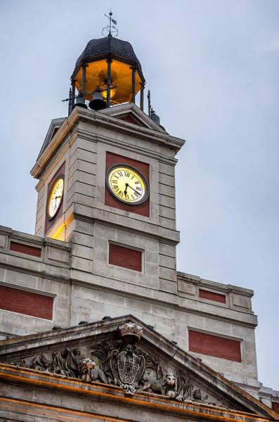 Photograph - Reloj De Gobernacion 2 by Pablo Lopez