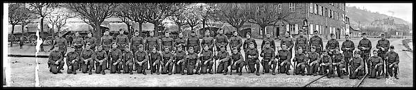 Platoon Wall Art - Photograph - Remainder Of Original Co. A. 23rd U.s by Fred Schutz Collection