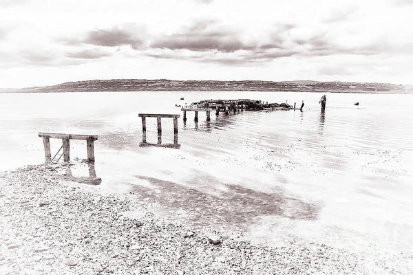 Photograph - Remains Of The Pier by Kate McKenna