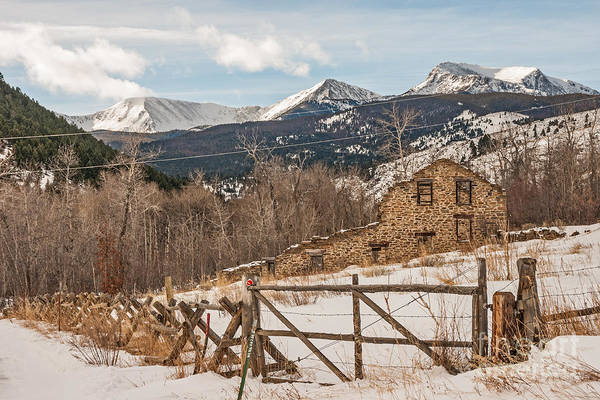 Photograph - Remains Of Twenty-stamp Gold Mill by Sue Smith