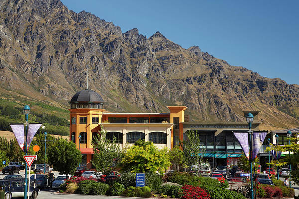 Commerce Photograph - Remarkables Park Shopping Centre by David Wall