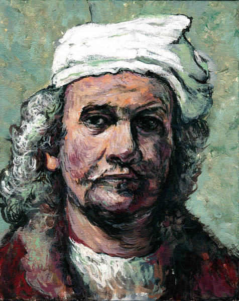 Painting - Rembrandt by Tom Roderick