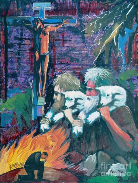 Remember The Shepherd Art Print by Peter Olsen