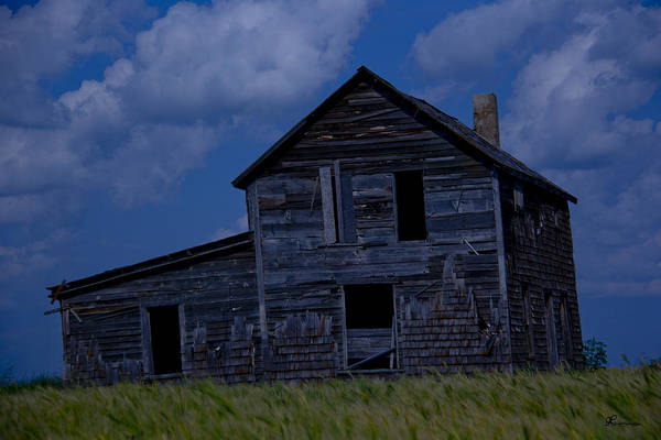 Prairie Home Digital Art - Remember When by Andrea Lawrence